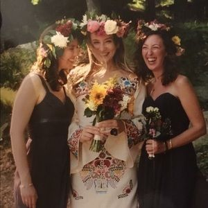 Fiesta Wedding Bohemian Celebration Mexican Dress